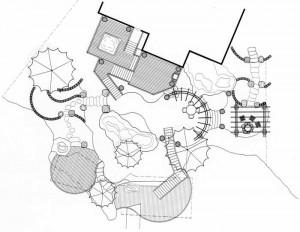 landscape design sketches, landscape designer west vancouver